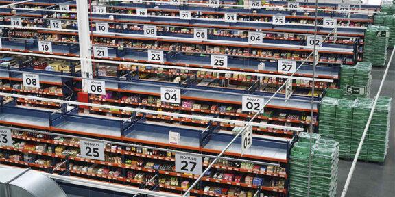 Interior colmena de Mercadona