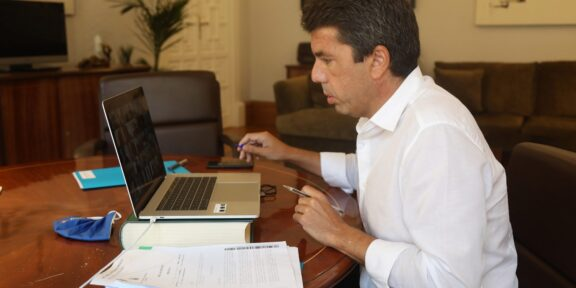 Carlos Mazon Presidente diputación Alicante