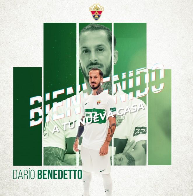 Darío Benedetto llega cedido al Elche CF