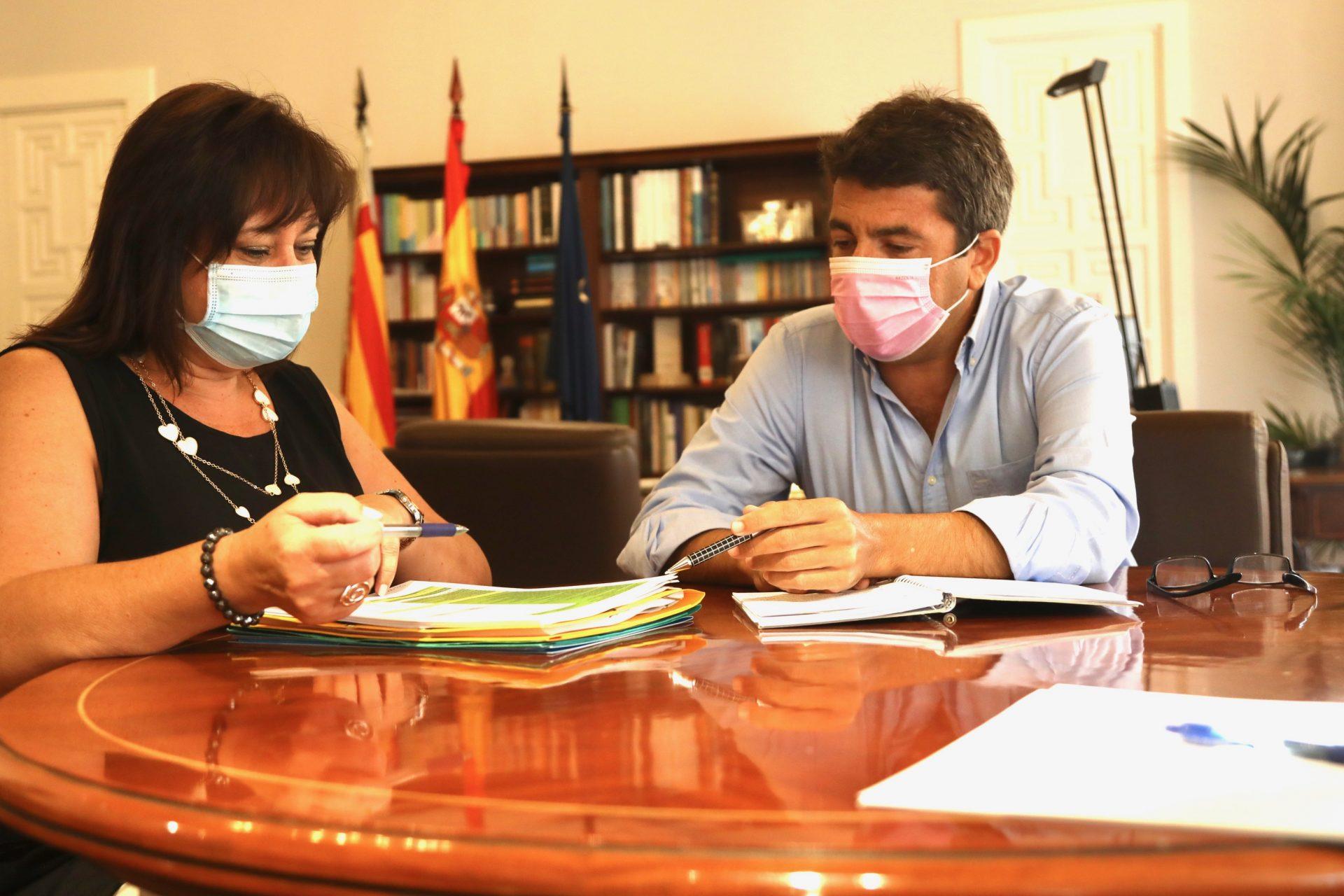 La Diputación atiende con 920.000 euros la promoción social de colectivos vulnerables de pequeños municipios