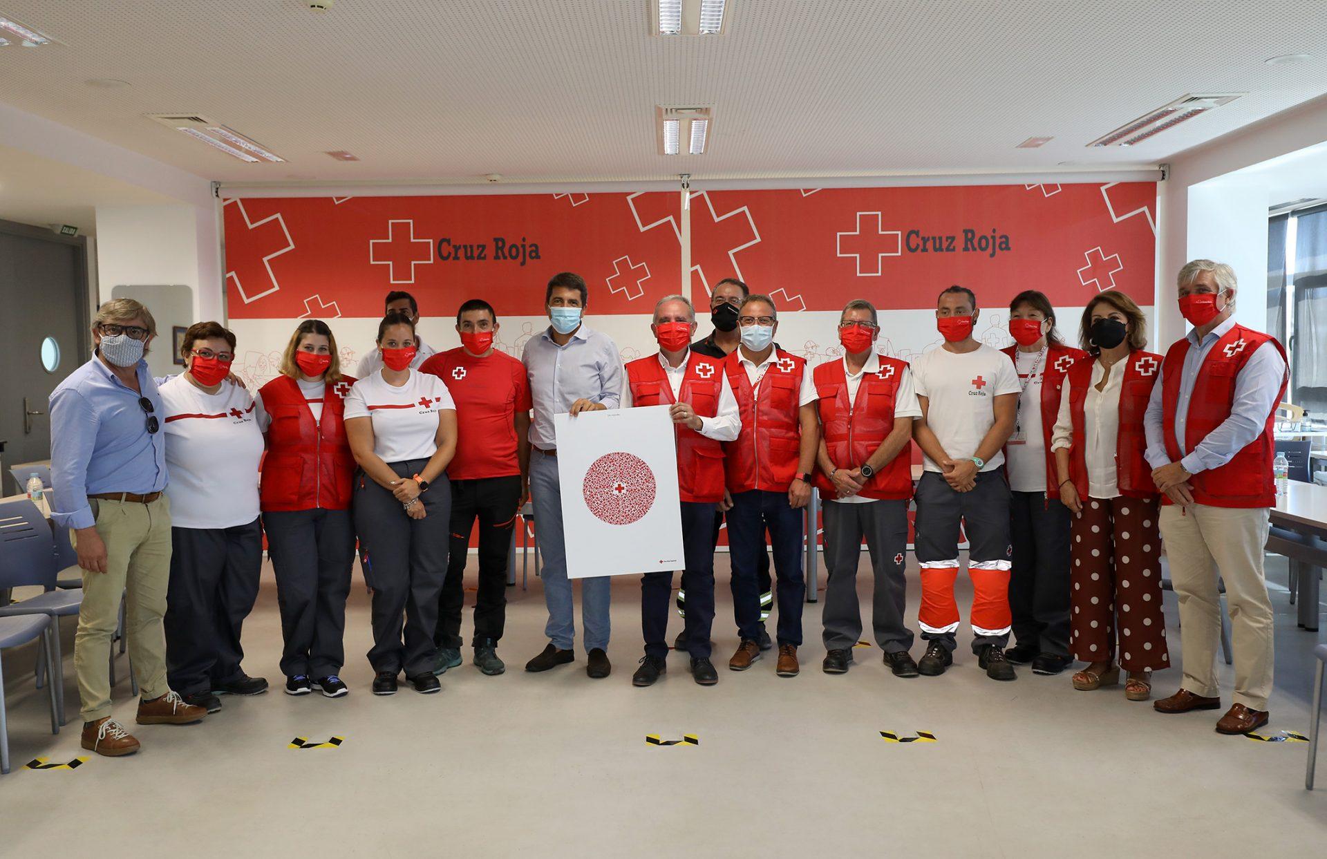 La Diputación multiplica por diez su inversión en Cruz Roja por la labor que desarrolla en la provincia