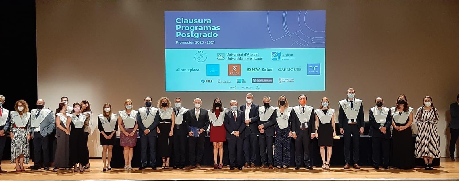 El Ivace, Fepeval y la Universidad de Alicante forman por primera vez a profesionales para la gestión de parques empresariales
