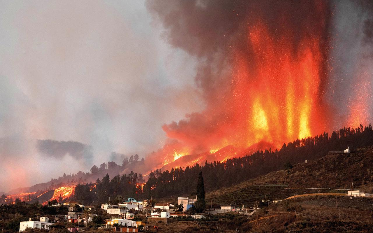 Sigue en directo la erupción del volcán de Cumbre Vieja  en la isla de La Palma