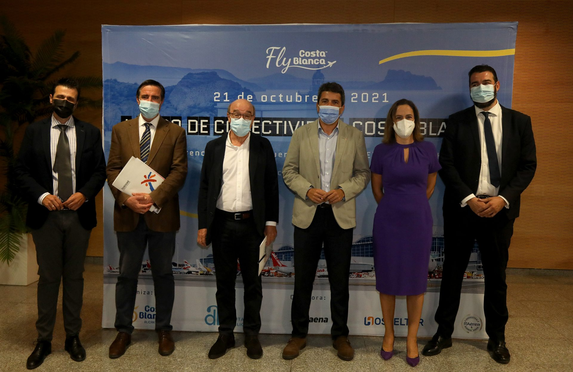 La Costa Blanca trabaja en la captación de nuevas rutas aéreas para superar las cifras previas a la pandemia