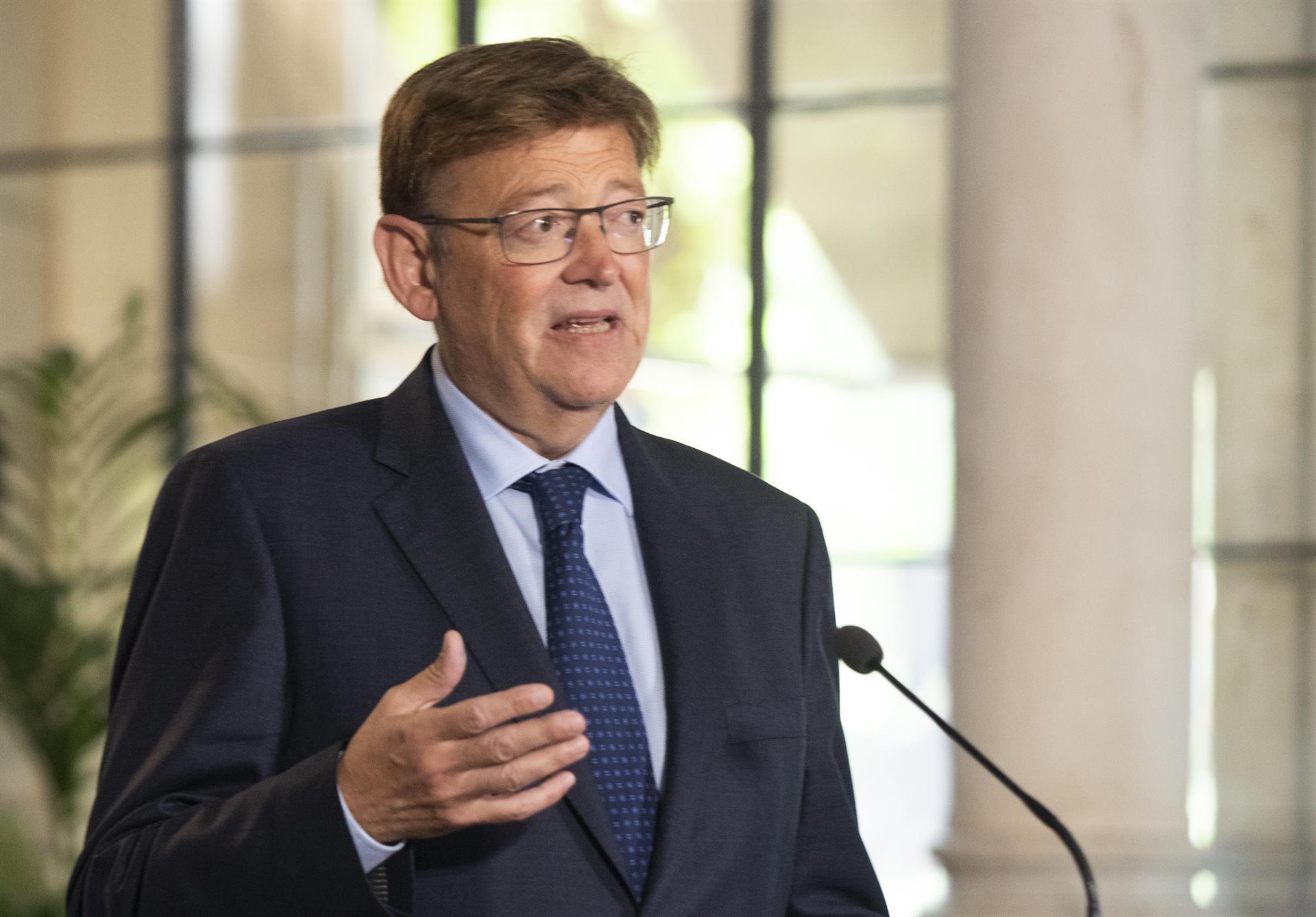 Puig rechaza los peajes en autovías: «En general, no es el momento para poner más tasas en la actividad económica»