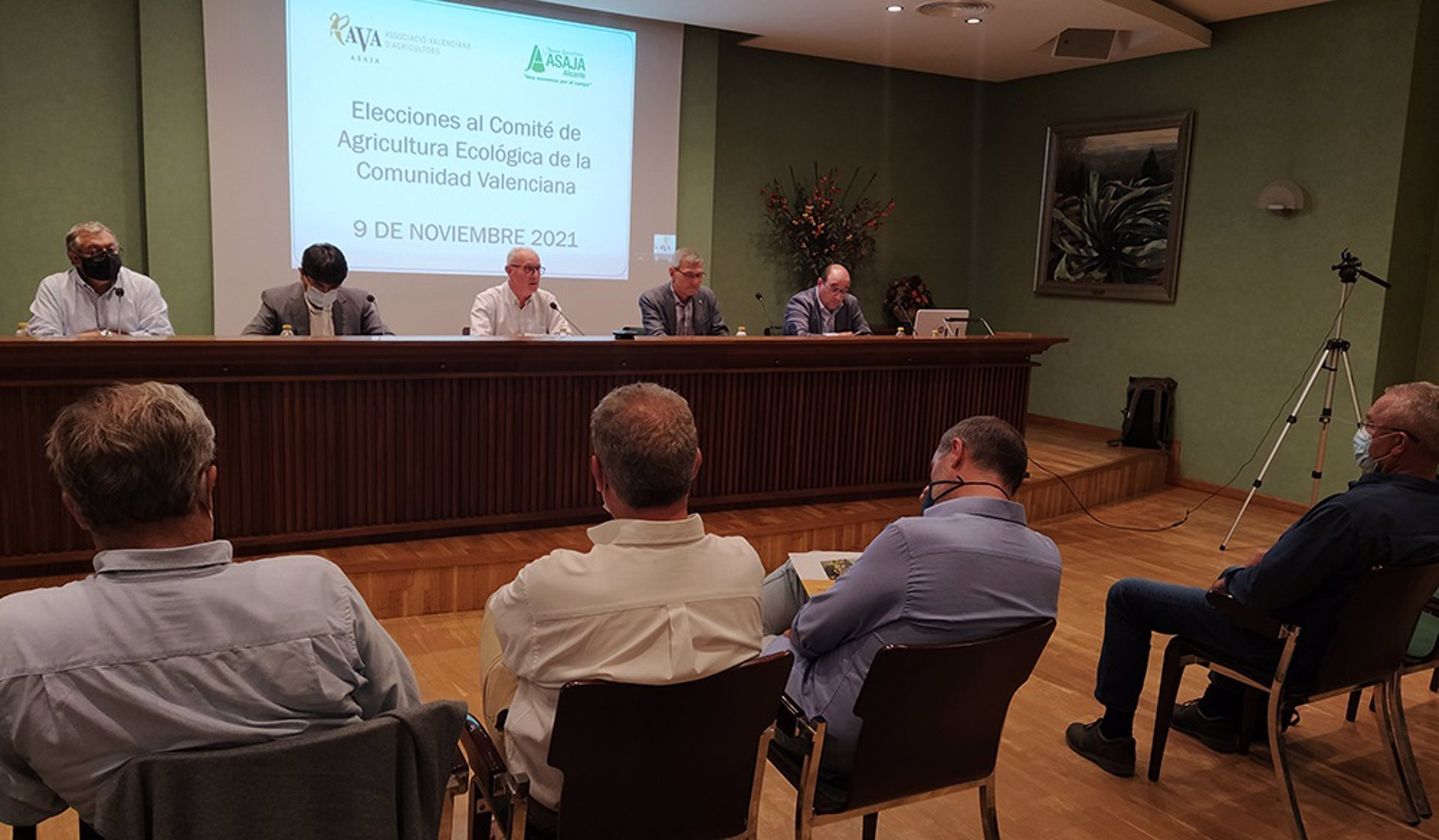 AVA-ASAJA y ASAJA Alicante aspiran a presidir el CAECV para promover agricultura ecológica y «despolitizar el organismo»