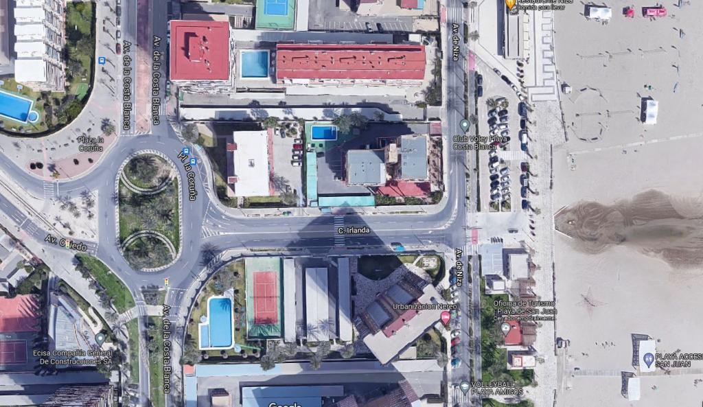 Preadjudicada la reurbanización de la conexión entre plaza de La Coruña y avenida de Niza