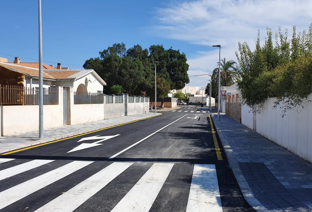 Urbanismo abre al tráfico rodado y peatonal El Barrio de Rabasa